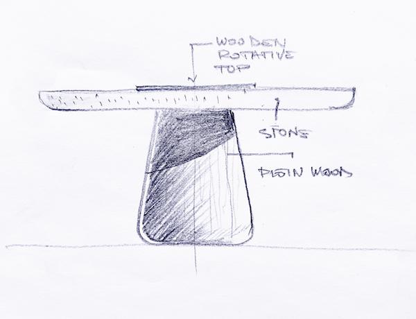 Koba table by Zanat