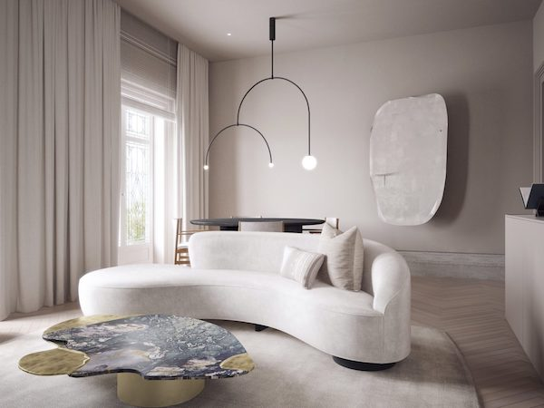 A Parisian apartment and a Roly Poly chair by Fay Toogood