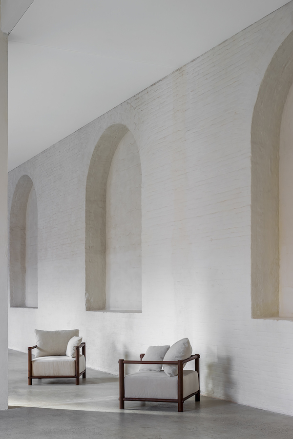 Nomad furniture collection by Belgian designer Nathalie Deboel