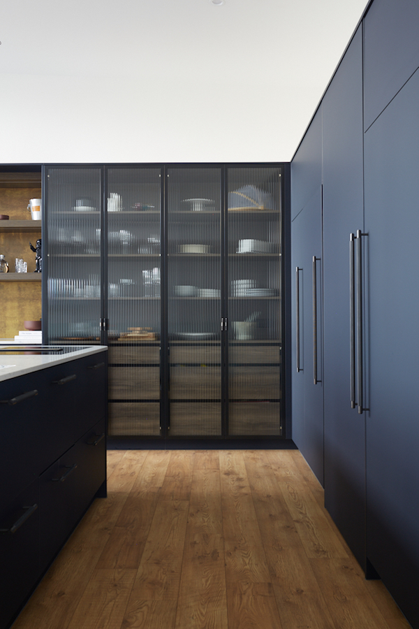 New reeded glass door ideas for your kitchen