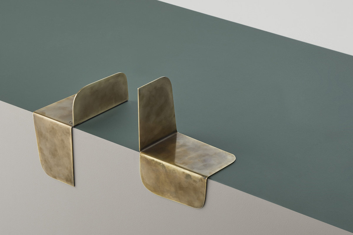 Minimalist Brass Bookends for your home