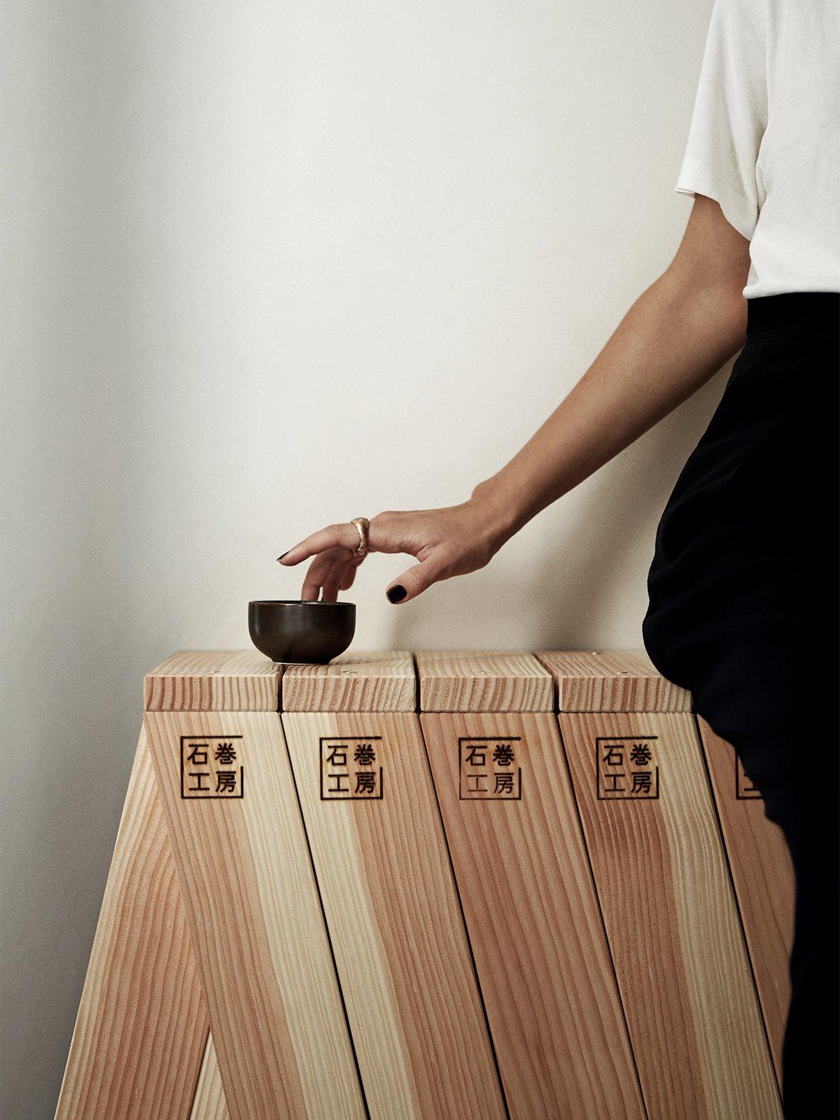 AA Stool by Ishinomaki Laboratory